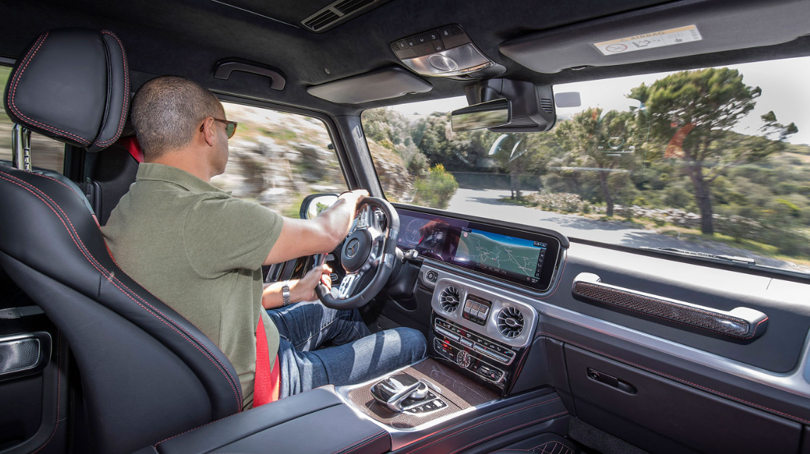2020 Mercedes G Wagon Interior
