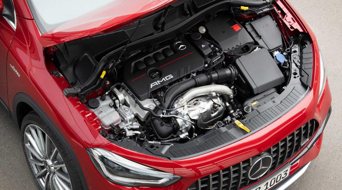 2020 Mercedes GLA Engine