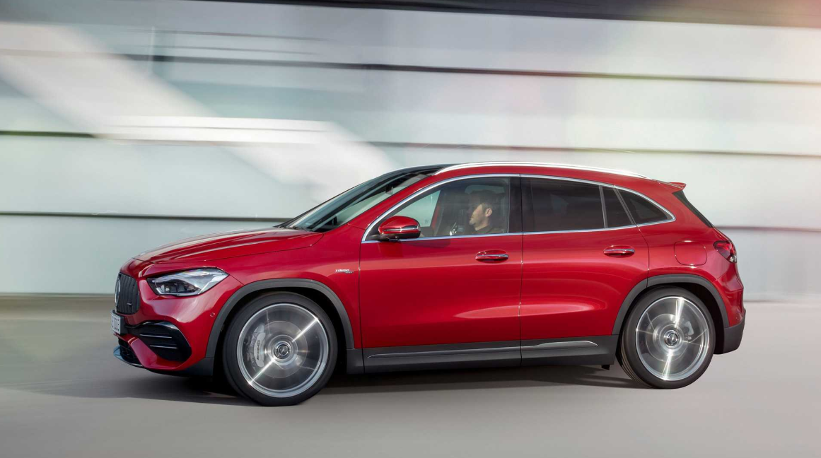 2020 Mercedes GLA Exterior