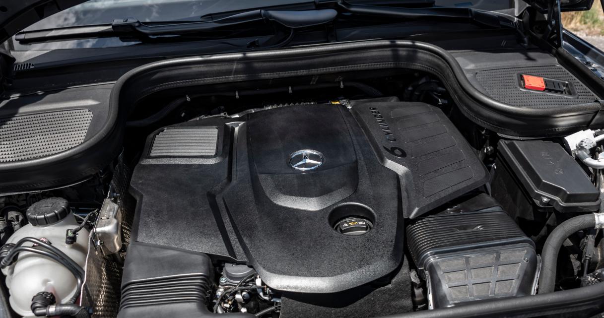 2020 Mercedes GLS 63 AMG Engine