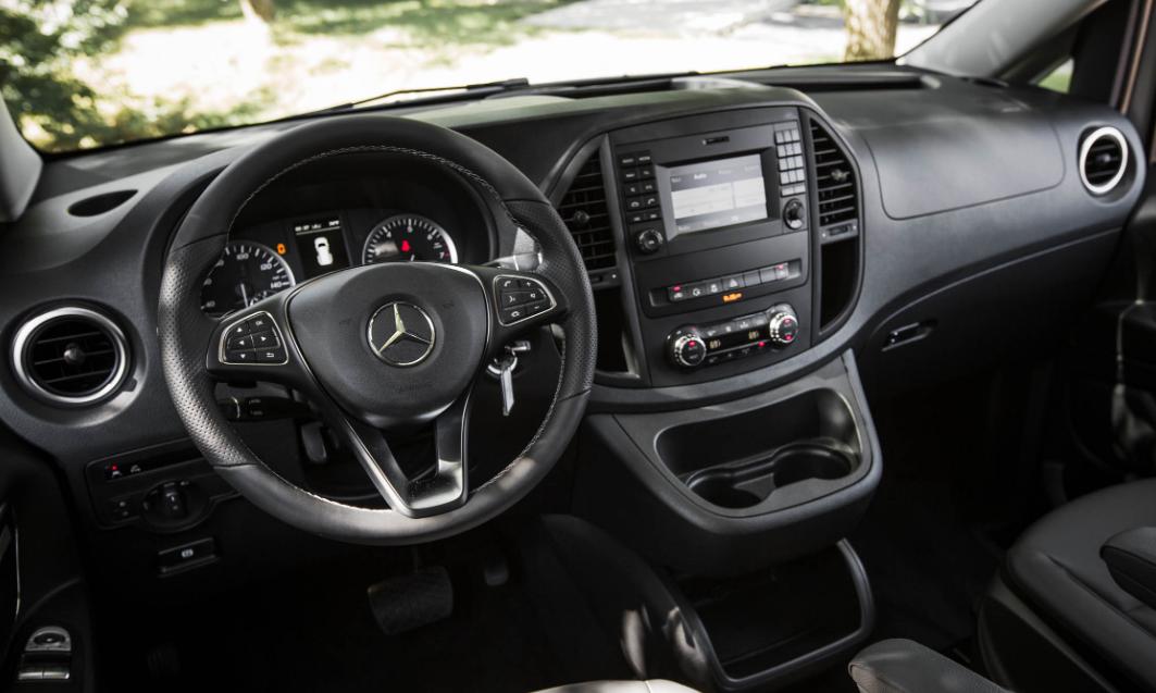 2020 Mercedes Metris Interior