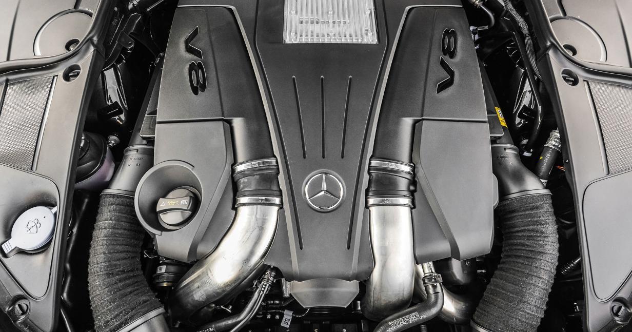 2020 Mercedes S Class Engine