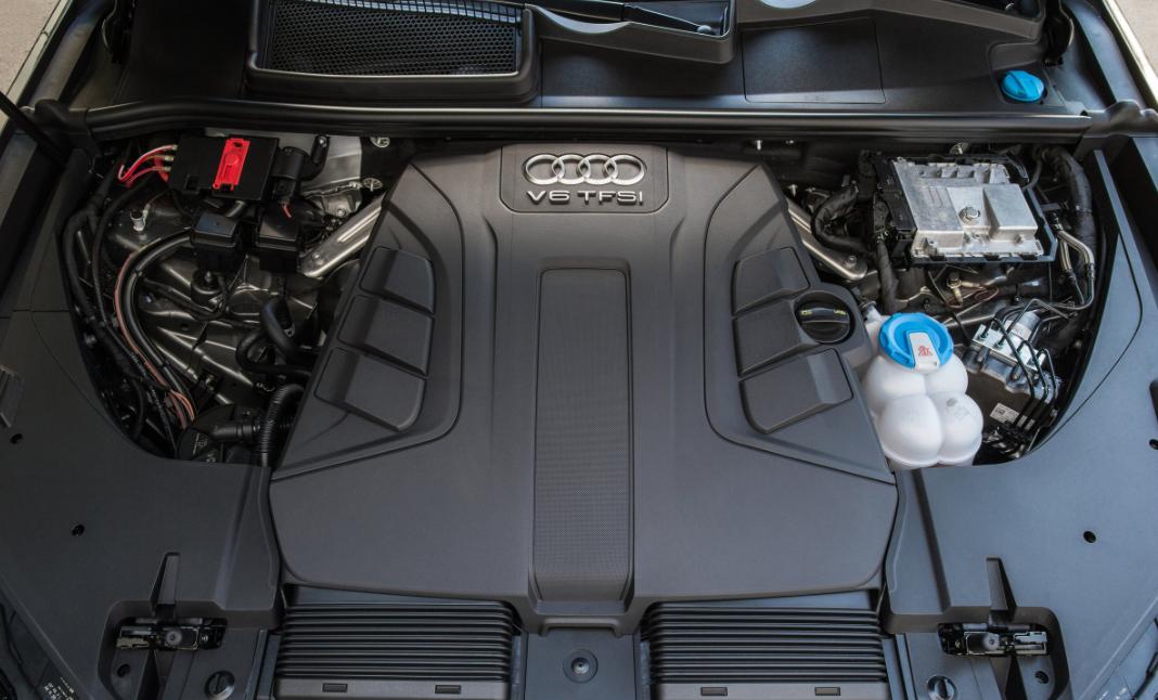 2021 Audi Q7 Engine