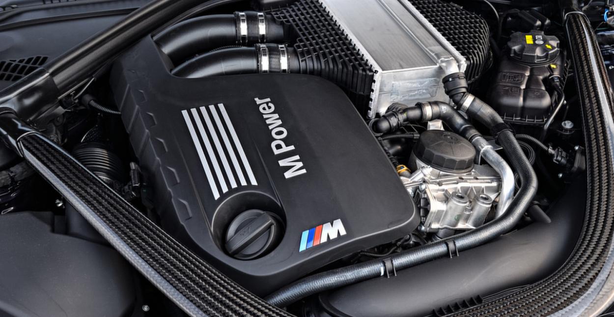 2021 BMW M3 Engine