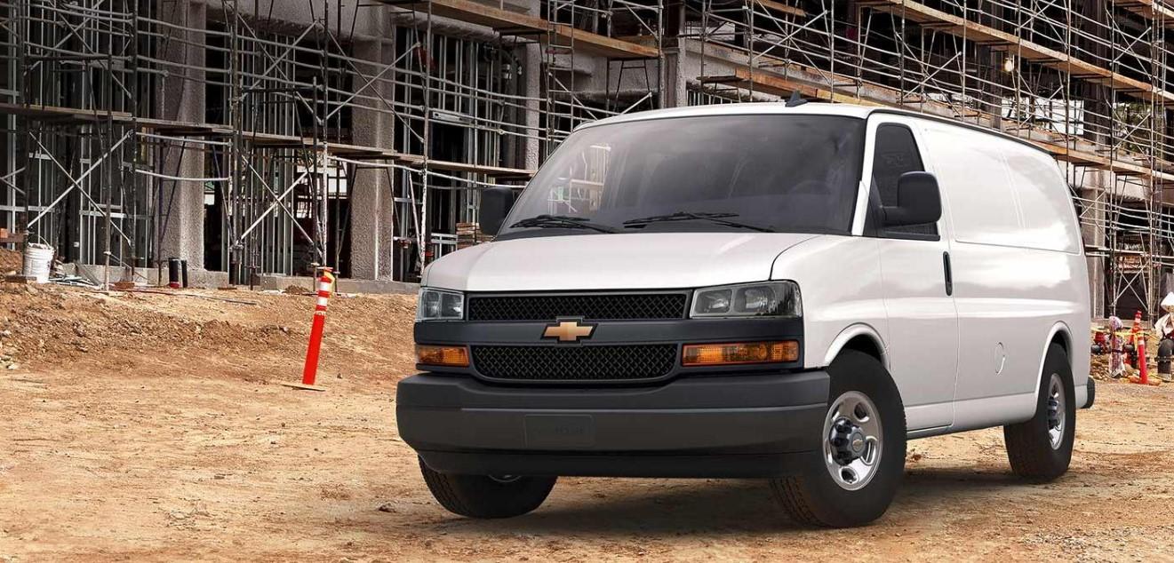 2021 Chevrolet Express Exterior
