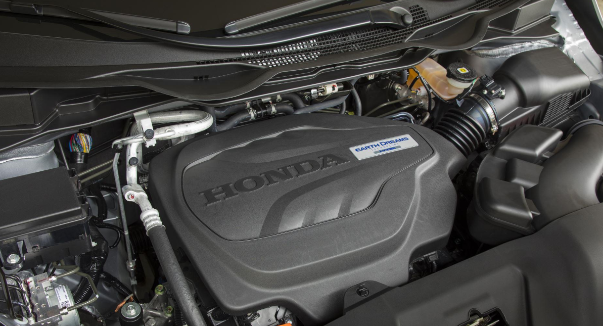 2021 Honda Ridgeline Engine