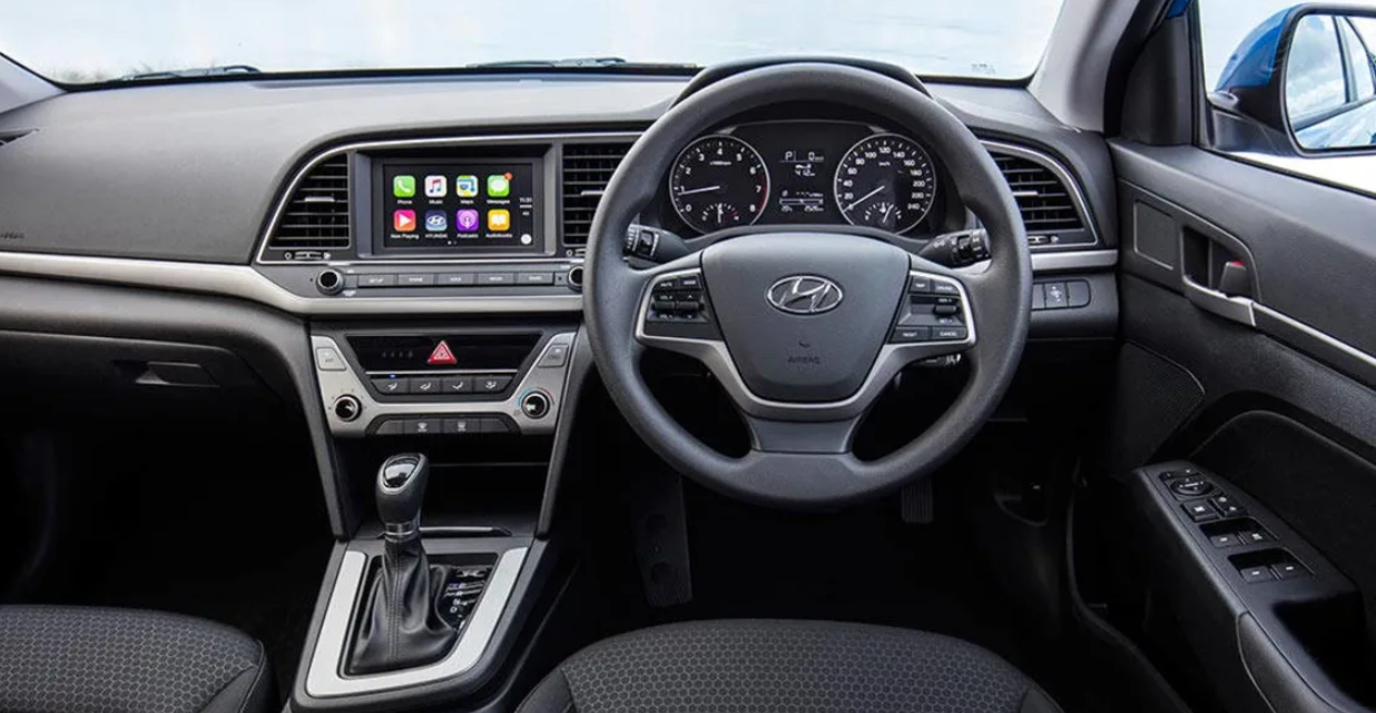 2021 Hyundai Elantra GT Interior