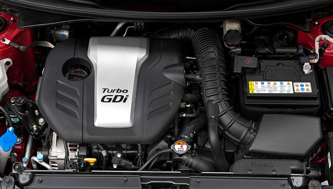 2021 Hyundai Veloster N Engine