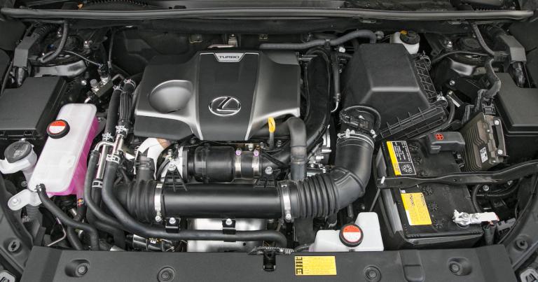 2021 Lexus NX Engine