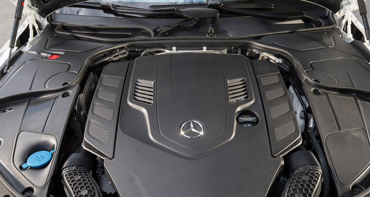 2021 Mercedes Benz S Class Engine
