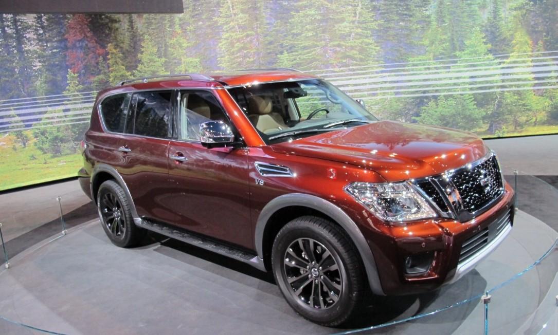 2021 Nissan Armada Exterior