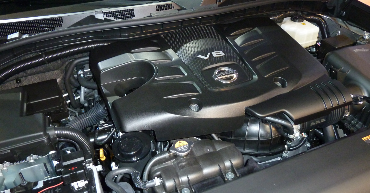 2021 Nissan Patrol Engine