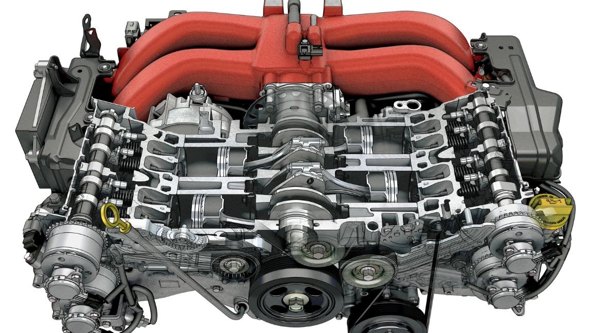 2021 Toyota 86 Engine