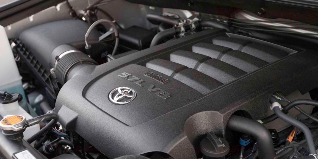 2021 Toyota Tundra Engine