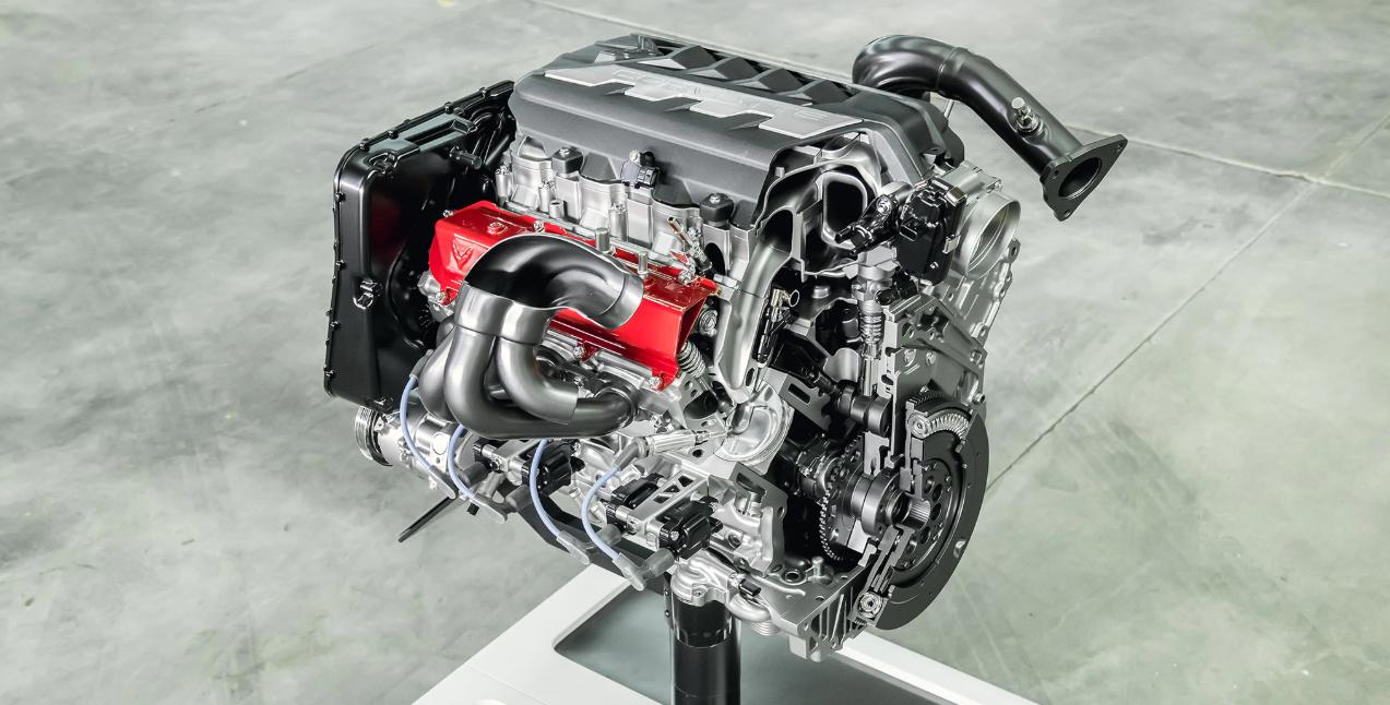 2022 Chevrolet Corvette Engine