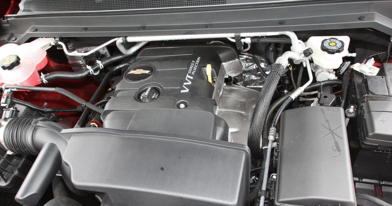 2022 Chevy Colorado ZR2 Engine