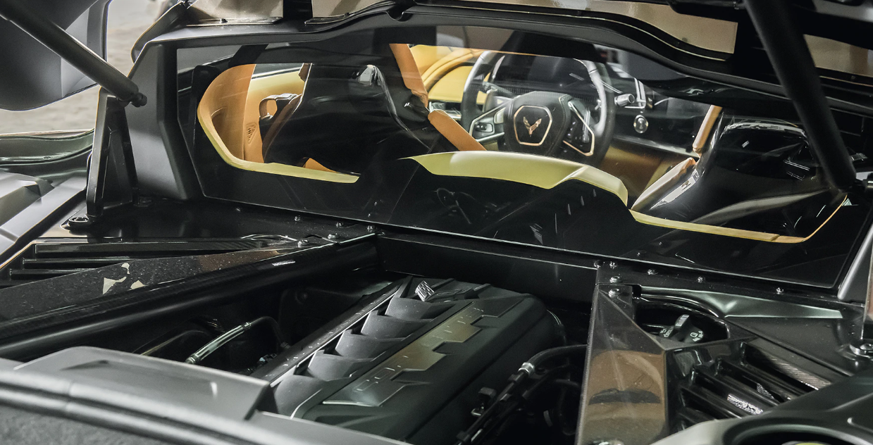 2022 Chevy Corvette Engine
