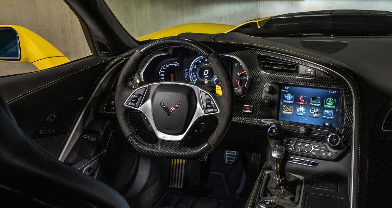 2022 Chevy Corvette Interior