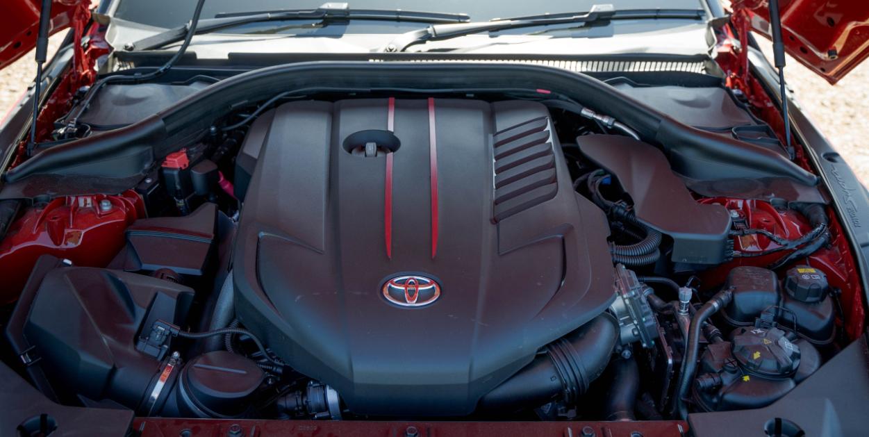2022 Toyota Supra Engine