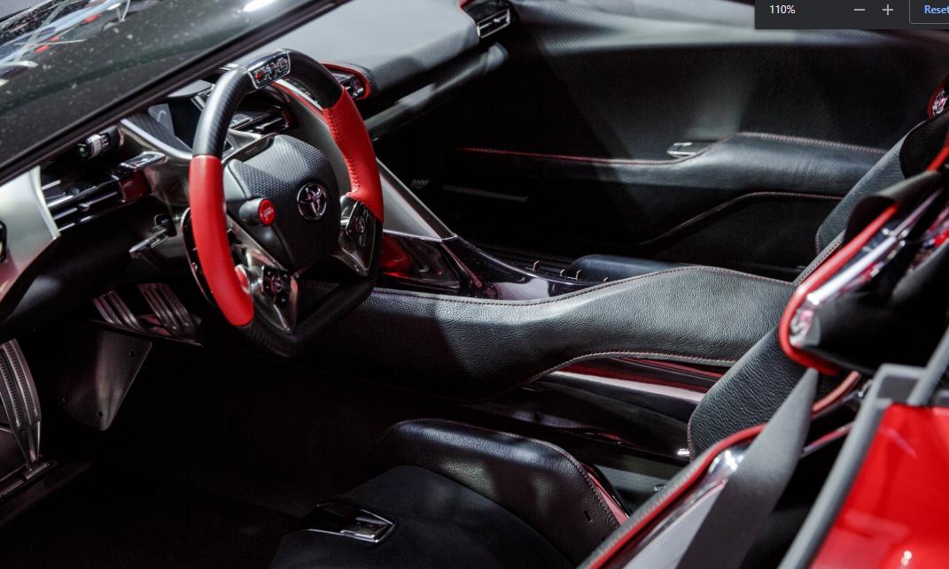 2022 Toyota Supra Interior