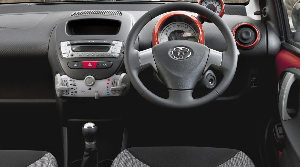 Toyota Aygo 2022 Interior