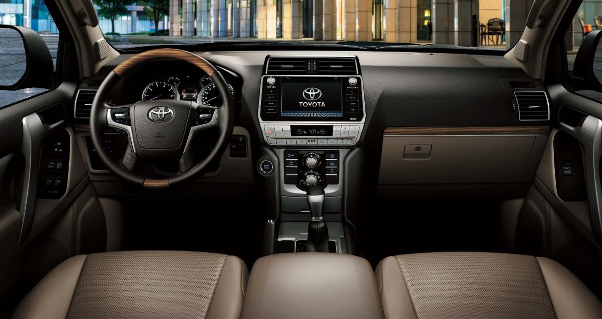 Toyota Prado 2022 Interior
