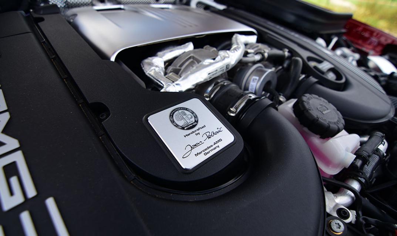 2020 Mercedes AMG GLC 43 Engine