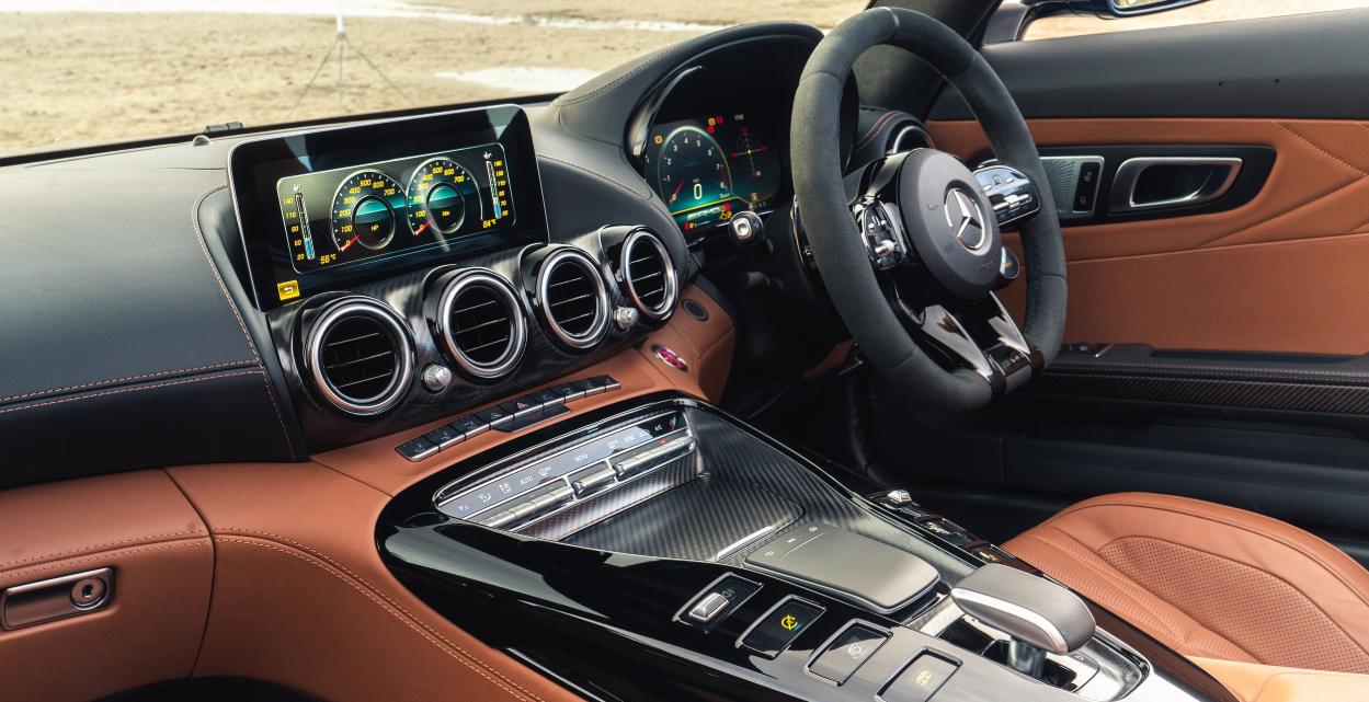 2020 Mercedes AMG GTR Interior