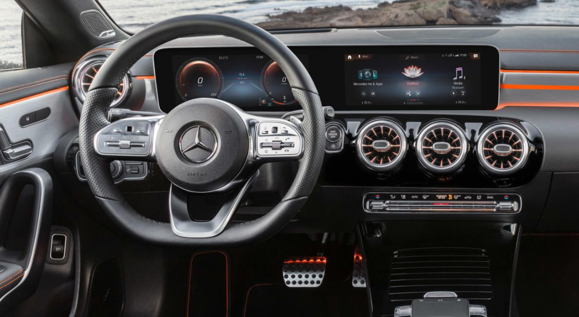 2020 Mercedes Benz CLA Interior