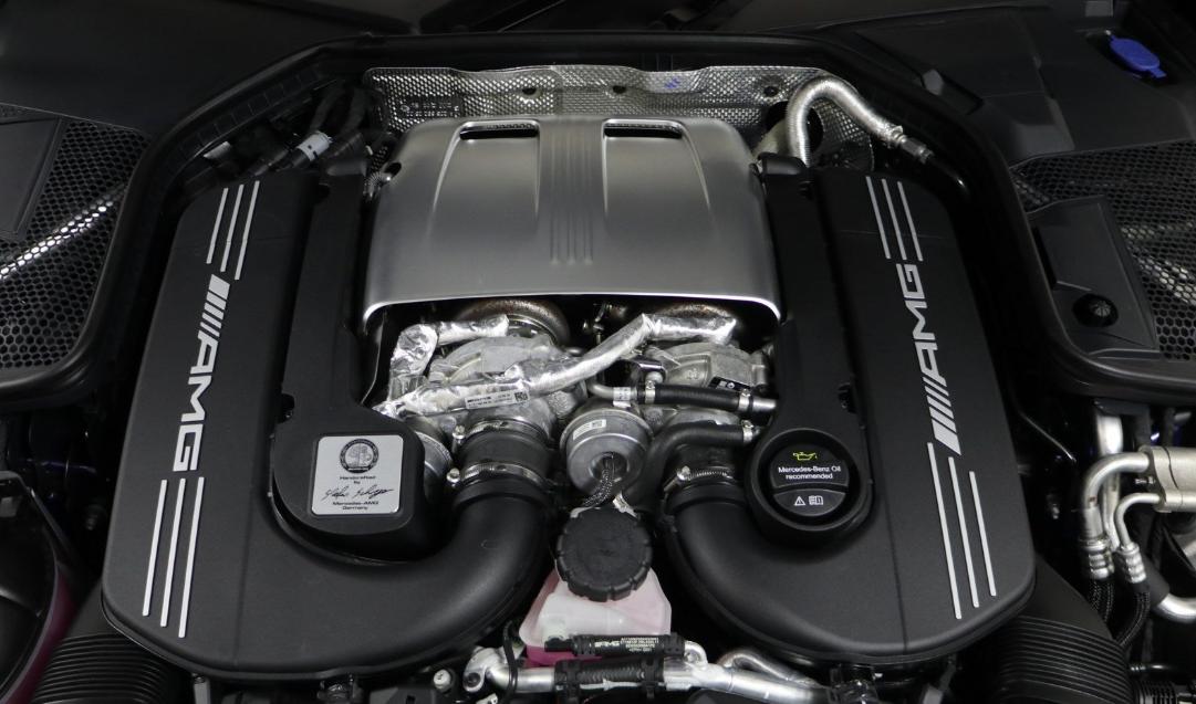 2020 Mercedes C63 AMG Engine