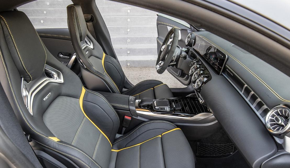 2020 Mercedes CLA 45 AMG Interior