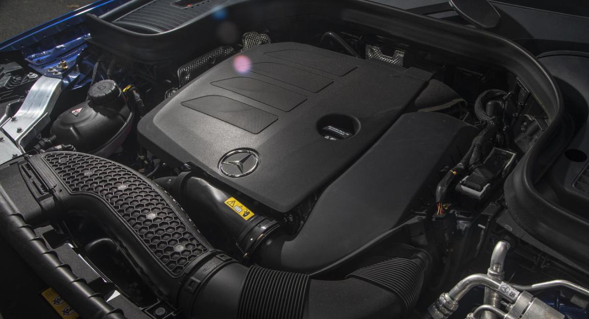 2020 Mercedes GLC 250 Engine
