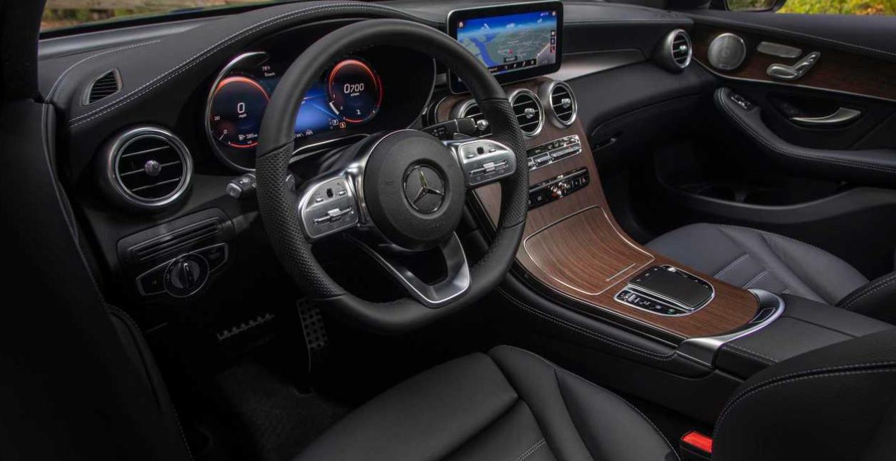 2020 Mercedes GLC 250 Interior