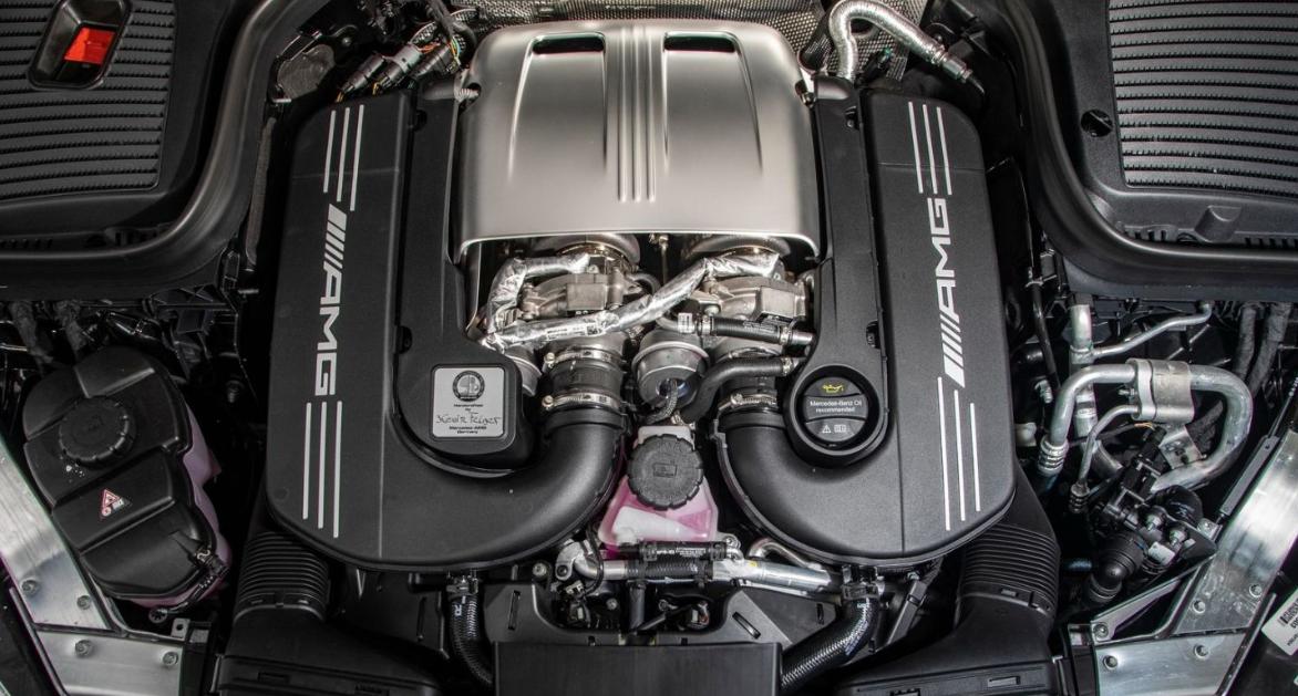 2020 Mercedes GLC 63 AMG Engine