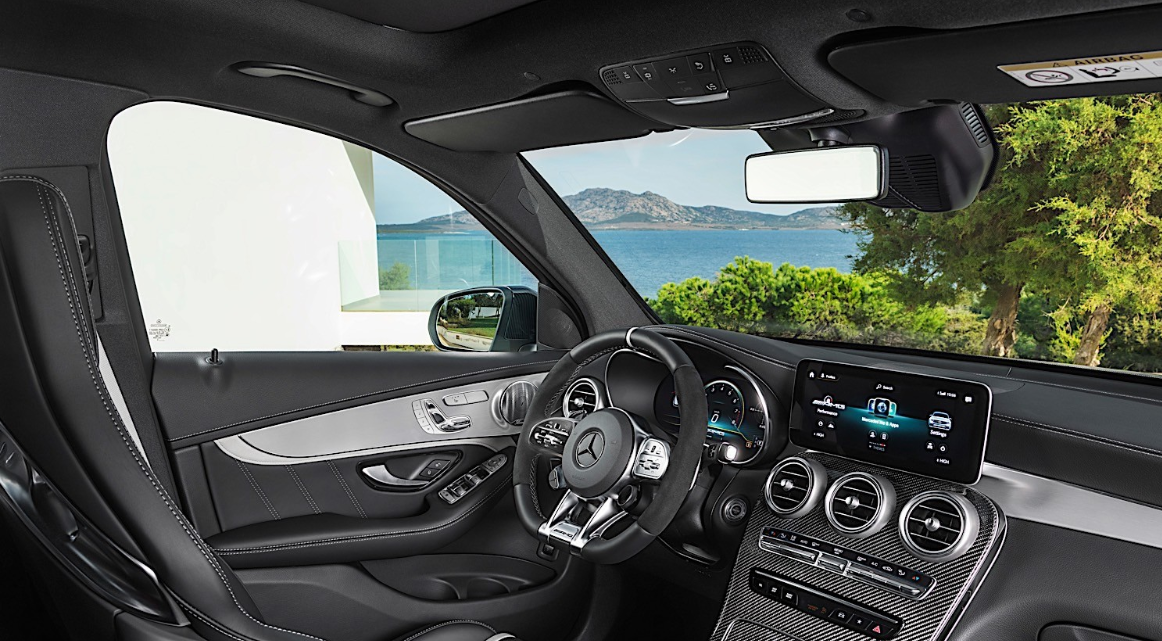 2020 Mercedes GLC 63 AMG Interior