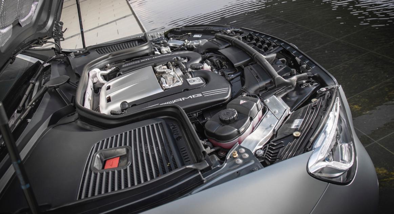 2020 Mercedes GLC 63 Engine