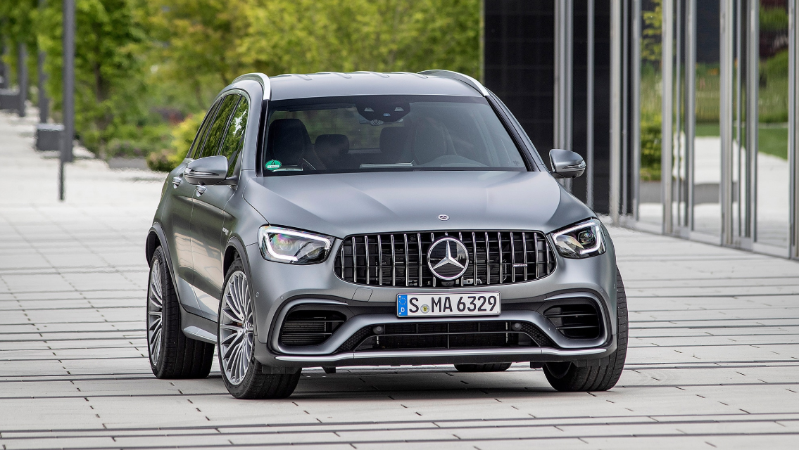 2020 Mercedes GLC 63 Exterior