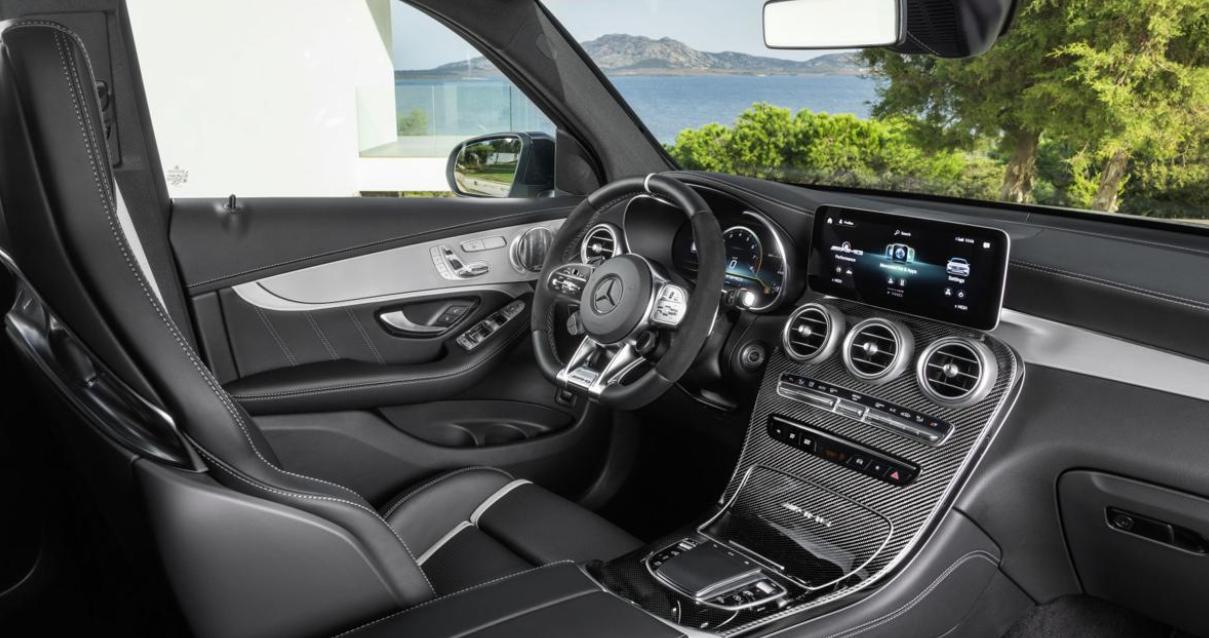 2020 Mercedes GLC 63 Interior