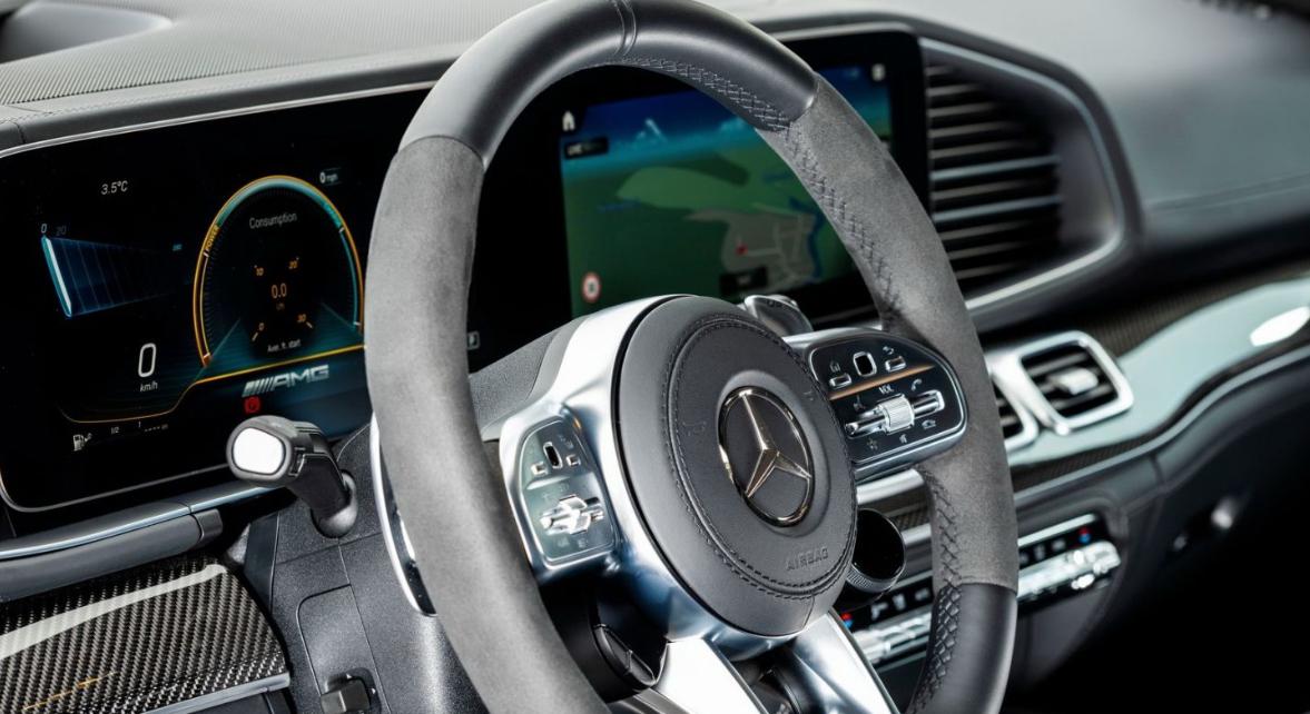 2020 Mercedes GLE 63 AMG Interior