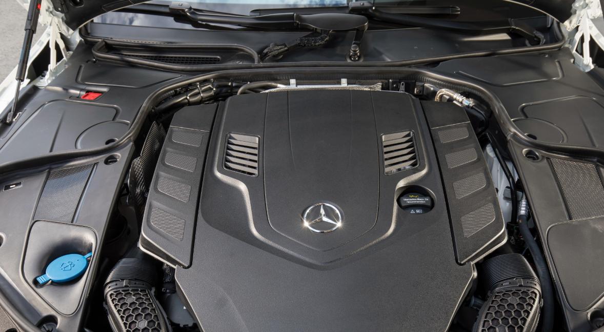 2020 Mercedes S560 Engine