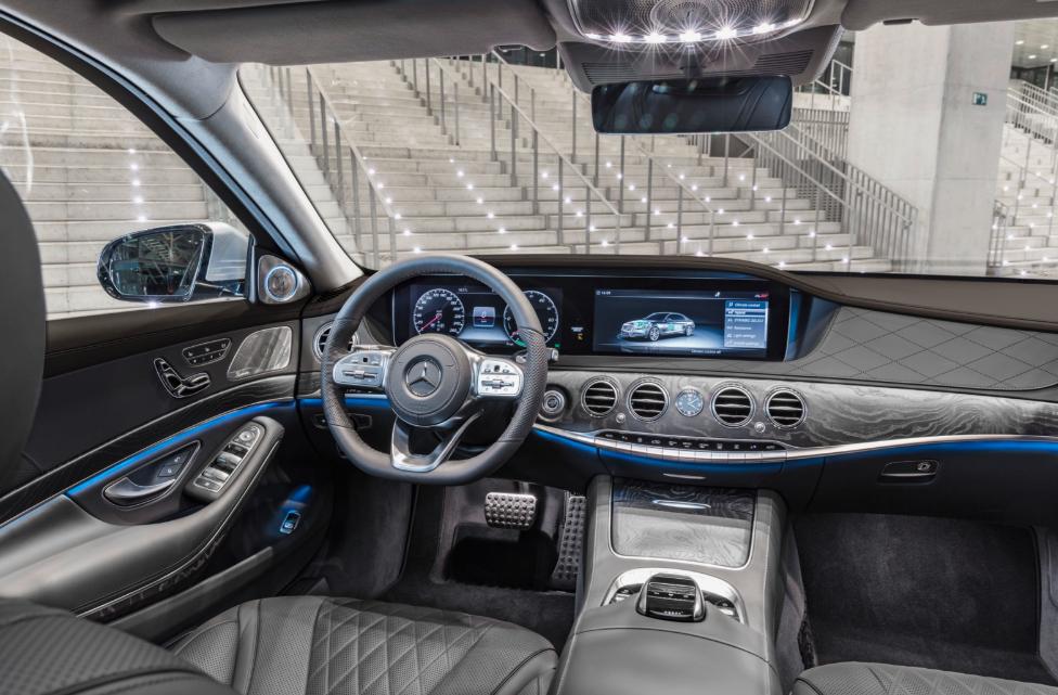 2020 Mercedes S560 Interior