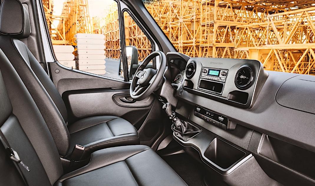 2020 Mercedes Sprinter Interior