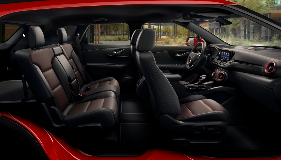 2021 Chevrolet Blazer Interior