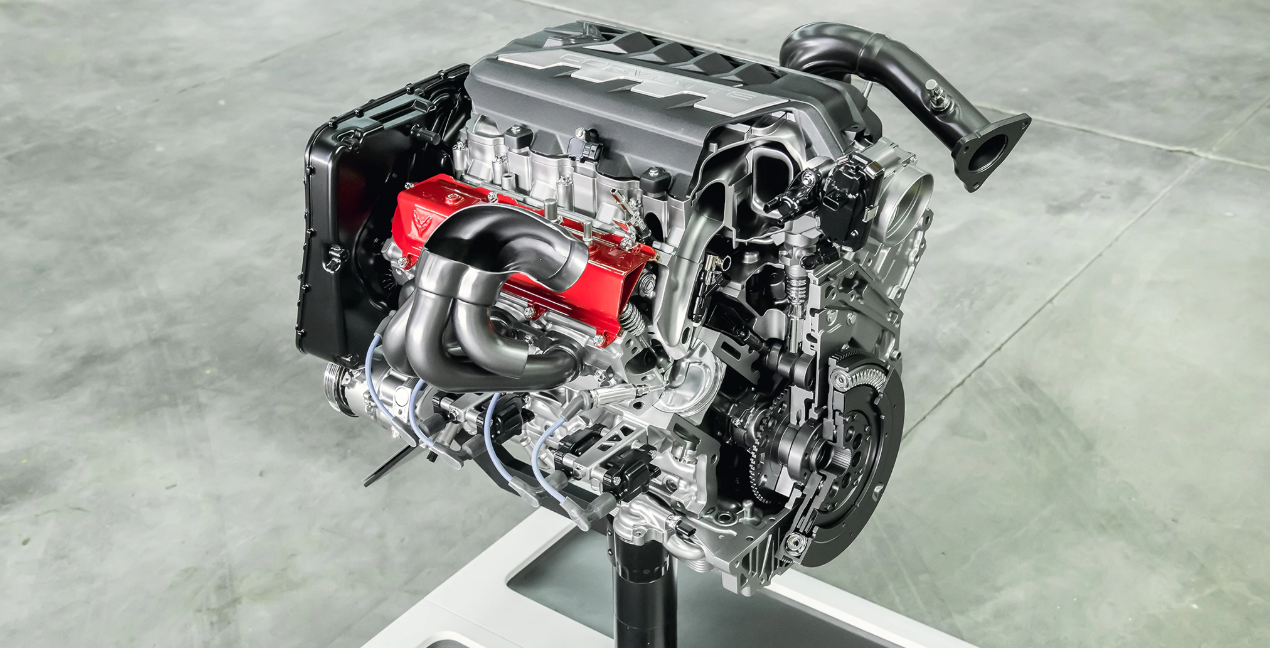 2021 Chevrolet Corvette Engine