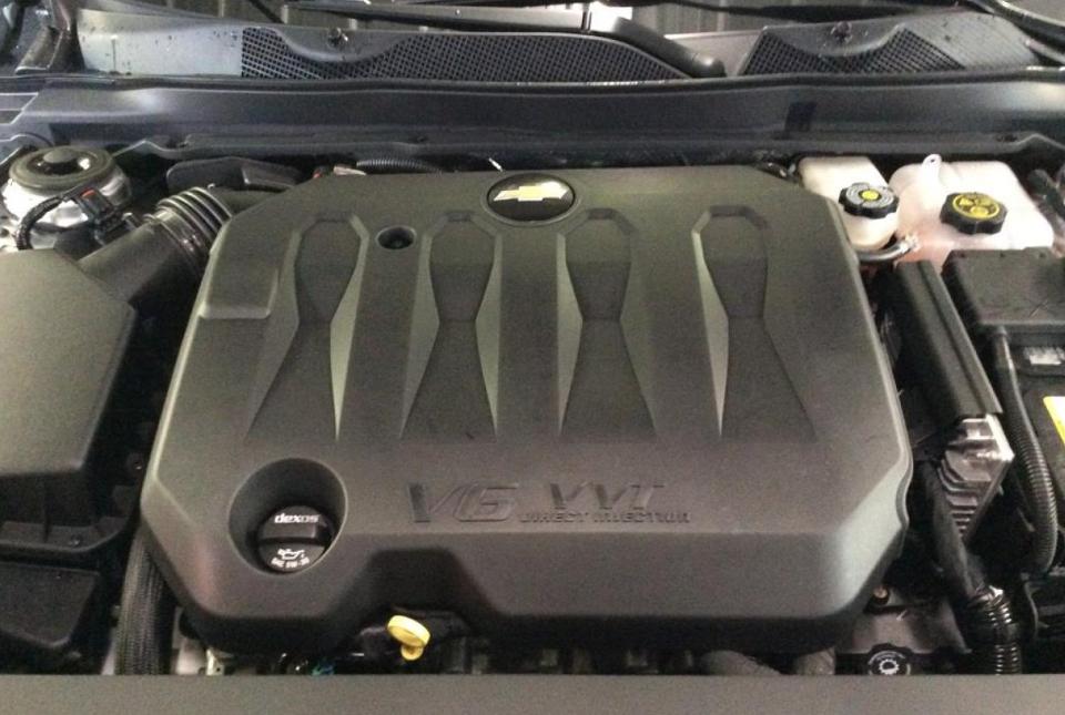 2021 Chevrolet Impala Engine