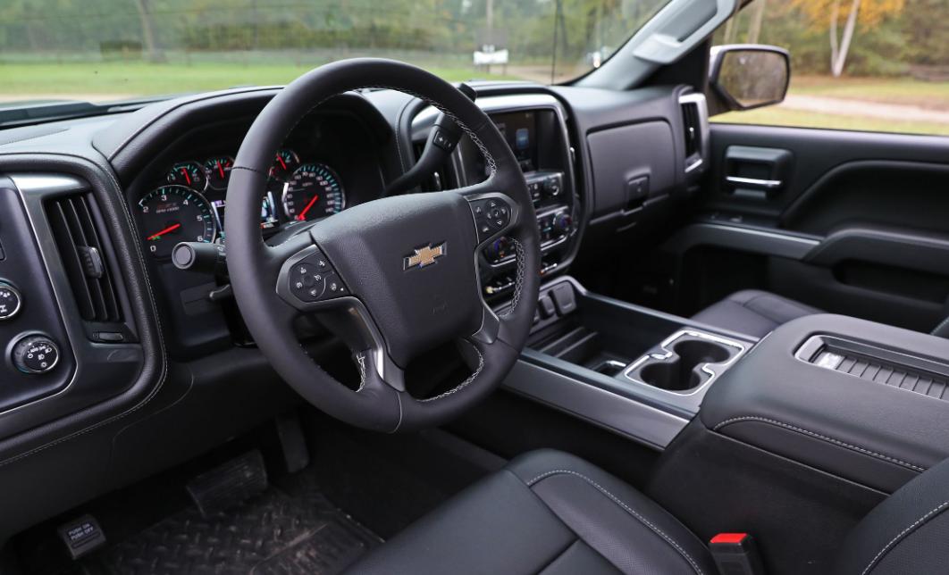 2021 Chevrolet Silverado 1500 Interior