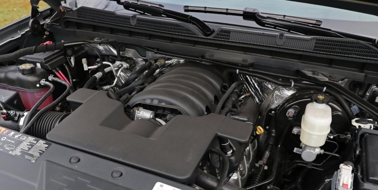 2021 Chevrolet Silverado Engine