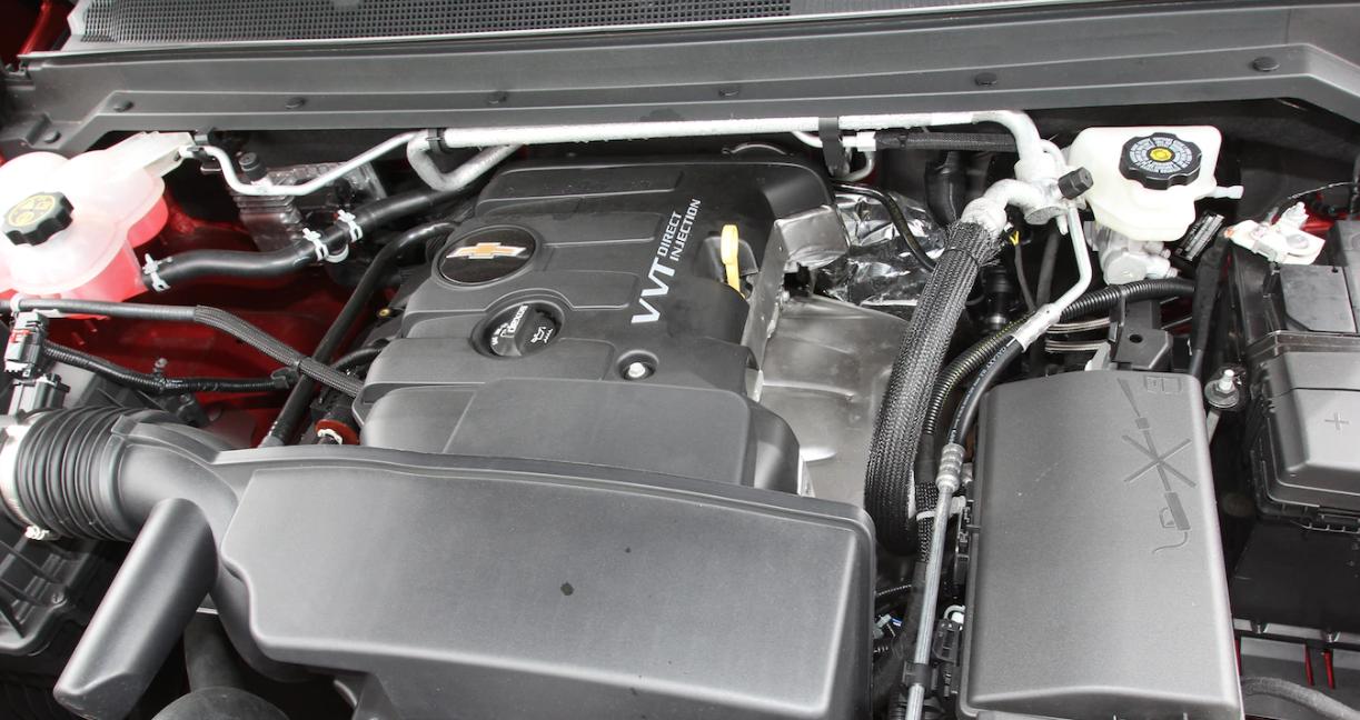 2021 Chevy Colorado ZR2 Engine
