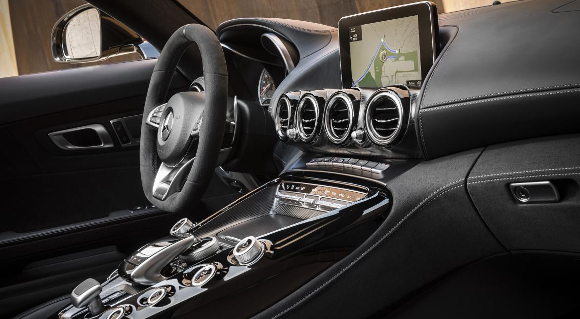 2021 Mercedes AMG GT Interior
