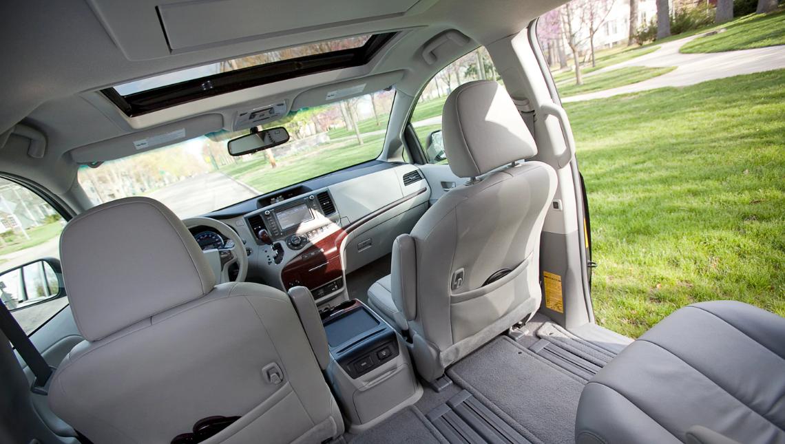 2021 Toyota Sienna Interior